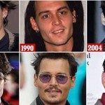 heartthrob Johnny Depp finally loses his model looks at 52