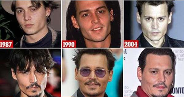 Johnny Depp finally loses his model looks at 52