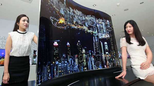 LG's double-sided TV offers a twin peek