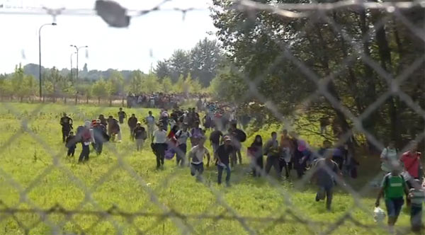 Migrants face search for new routes
