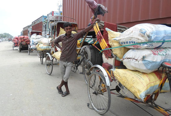 India-Nepal trade route blocked unofficially