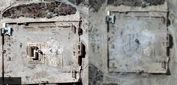Palmyra's Temple of Bel 'destroyed'