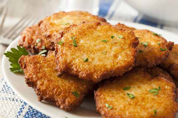 Do you hear the recipe of potato pancakes?