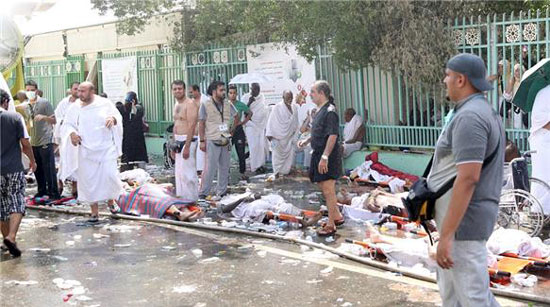 Stampede kills 717 at Hajj pilgrimage near Mecca