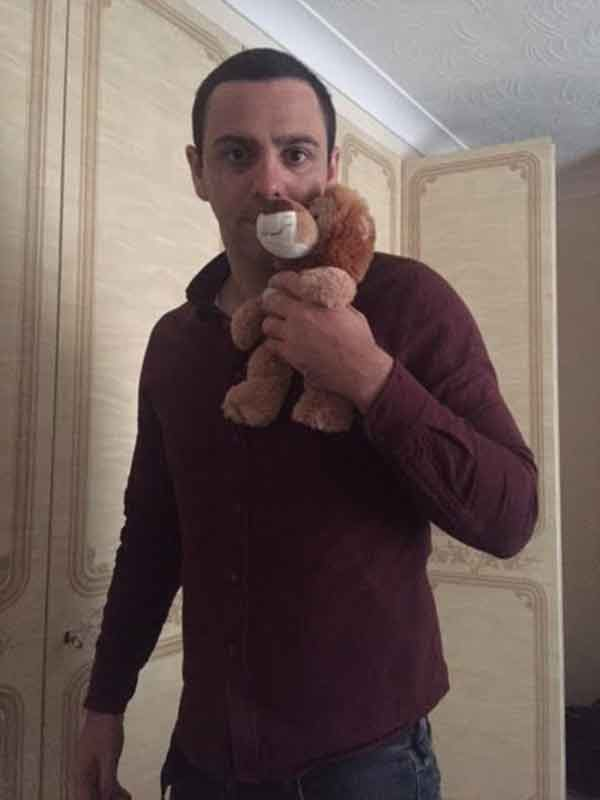 The grown man who still sleep with teddy bears