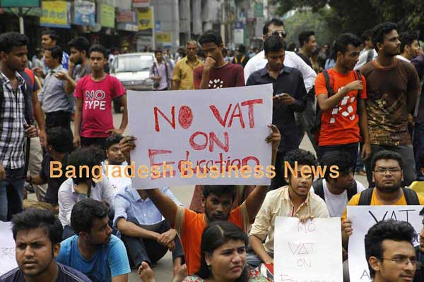 #NoVatOnEducation student movement is on the rise in Bangladesh