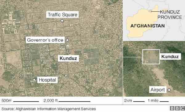 Afghan forces set for Kunduz battle