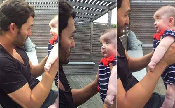 Viral now: He explains miracle of life to baby