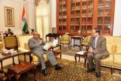 BB governor calls on Indian President Pranab Mukherjee