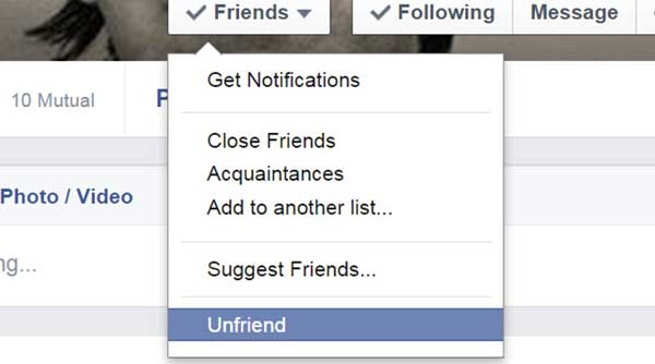 Delete partner on Facebook to get romance back in your life!