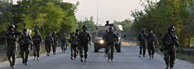 Afghan forces 'regain Kunduz control'