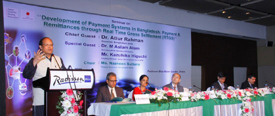 Bangladesh updating payment system to boost financial inclusion