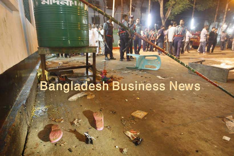IS claims Bangladesh mosque attack