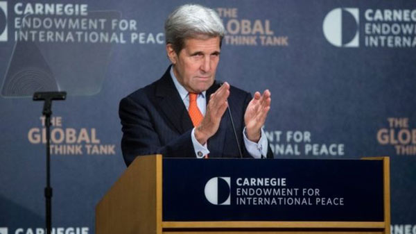 Syria conflict: John Kerry seeks end to civil war 'hell'