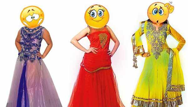 Is it a lehenga? Is it a gown? What?
