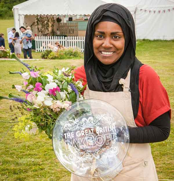 Bangladeshi origin Nadiya crowned as Bake Off winner