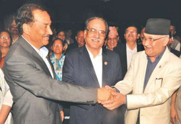 Nepal's two parties agrees larger power-sharing