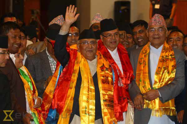 Nepal elects KP Oli as PM amid political crisis