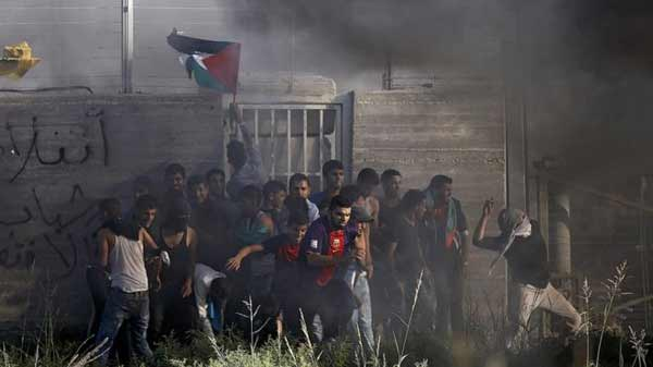 Rocket fired from Gaza hits Israel