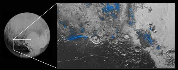 The first photos of water on Pluto are puzzling scientists