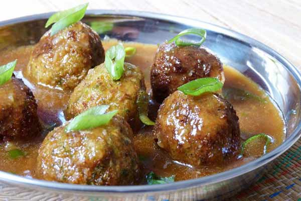 Vegetable ball, a delicious item