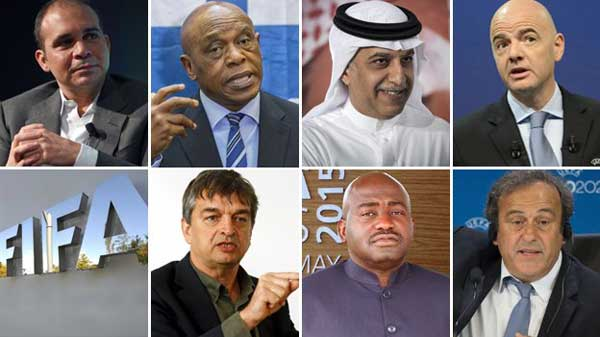 Fifa: Presidential election candidates confirmed
