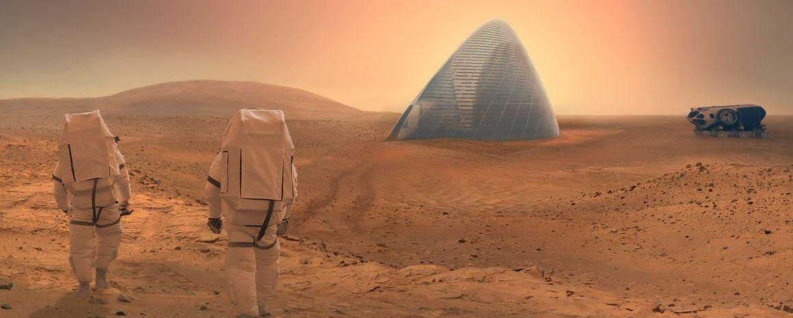 3-D printed martian igloo wins NASA habitat contest