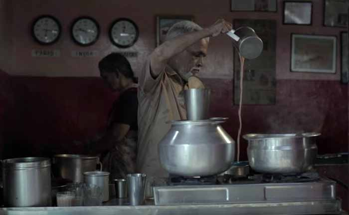This tea stall owner has travelled the world and has great advice for you