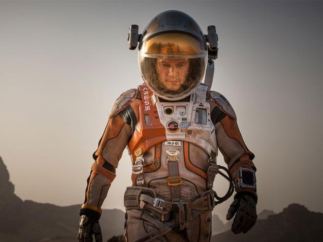 The Martian: Cast away on Mars