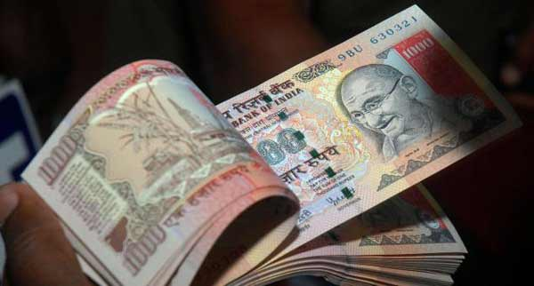 Indian Rupee falls 26 paise against US dollar