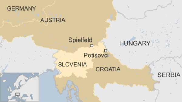 Thousands of migrants enter Slovenia