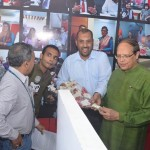Bangladesh Bank Governor visits stalls at Banking Fair