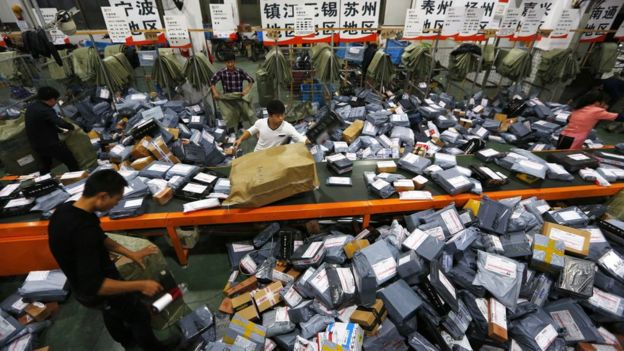 Alibaba breaks Singles Day record