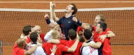 Andy Murray wins the Davis Cup for Great Britain