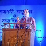 Bangladesh Bank Governor Dr Atiur Rahman speaks at the closing ceremony of the Banking Fair Bangladesh-2015 on Bangla Academy ground on Nov 28, 2015. Photo: BB