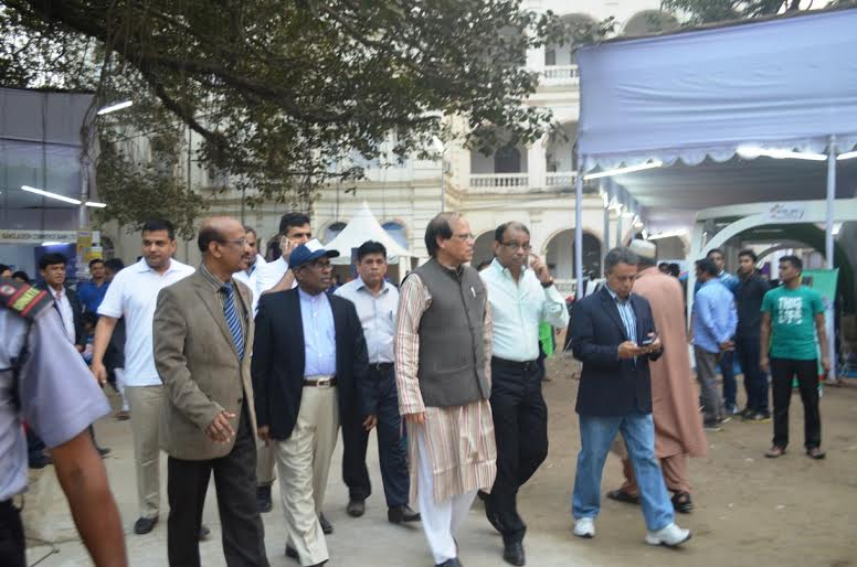 BB governor visits Banking Fair Bangladesh on fourth day
