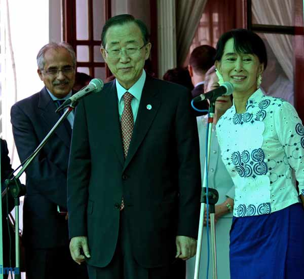 UN chief congratulates people of Myanmar