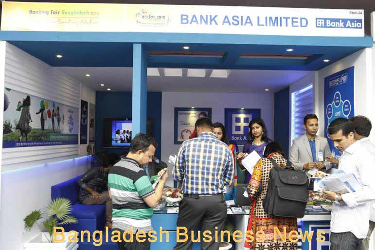 Bank Asia highlights agent banking in fair