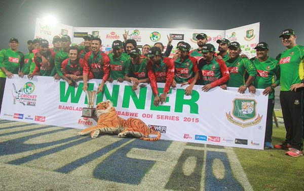 Mustafizur five-for seals Bangladesh's 3-0 sweep
