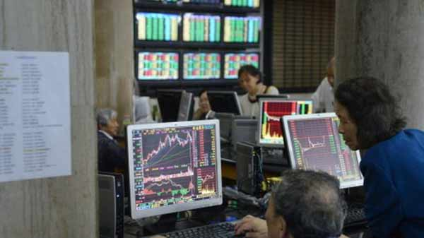 Chinese shares recover early losses after rout