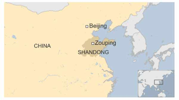 China factory gas leak in Shandong kills 10