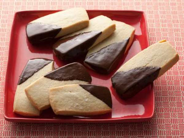 Homemade perfect shortbread cookies
