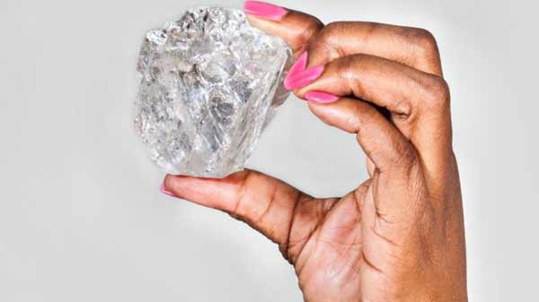 World's second-largest diamond found in Africa