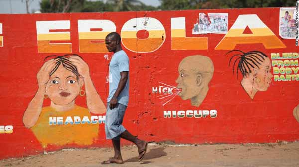Ebola global response was 'too slow'