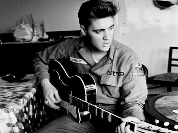 Elvis Presley tops UK album chart for 12th time