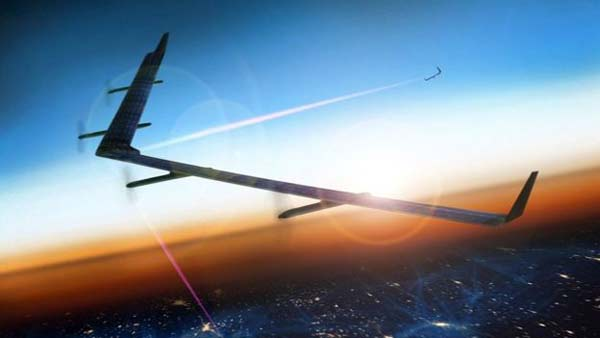 Facebook laser drone readies for launch