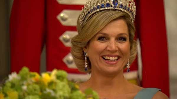 Dutch Queen Máxima arrives in Bangladesh