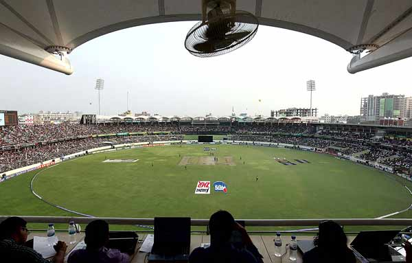 'My evening on Bangladesh's most storied cricket pitch'