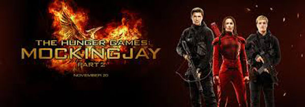 Mockingjay Part 2 books top slot at UK box office