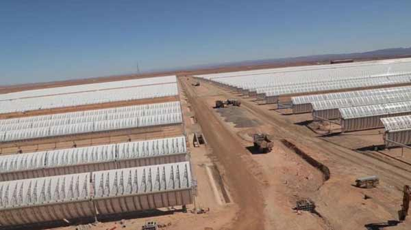 Morocco to open giant solar plant
